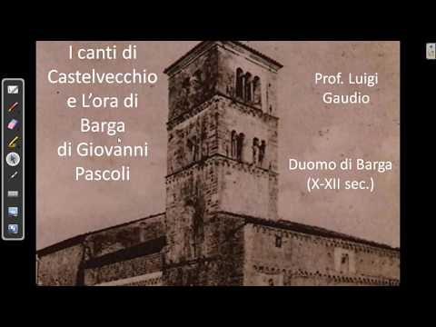 I canti di Castelvecchio e L'ora di Barga di Giovanni Pascoli