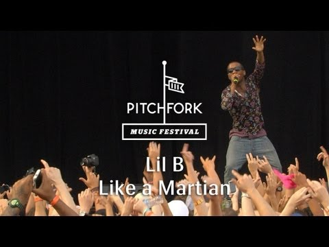 "Lil B - ""Like a Martian"" - Pitchfork Music Festival 2013"