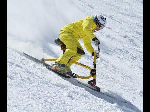 Enjoy Snowbiking At Powder Ridge Youtube