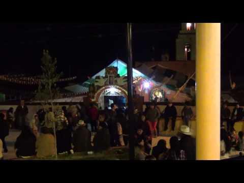 Santa Maria La Palma Alfajayucan Hidalgo Feria Anual 2015 Baile y Quema de Castillo