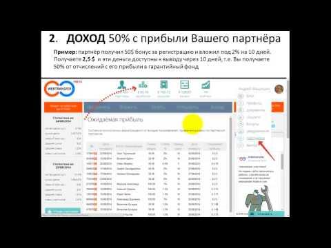 WebTransfer Finance заработок на микрокредитовании  без вложений