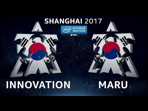 StarCraft II - INnoVation vs. Maru [TvT] - Group D - IEM Shanghai 2017