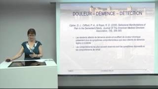 Détection et évaluation de la douleur de la maladie d'Alzheimer