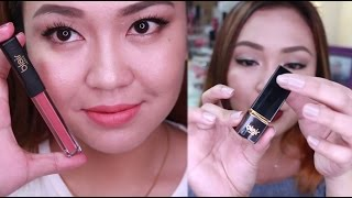 Blair Cosmetics Matte Lipstick REVIEW and SWATCHES! ALL SHADES!