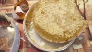 All Natural Honey Comb taste test