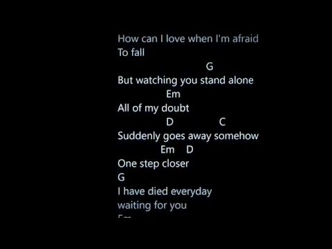 A Thousand Years - Chords and Lyrics