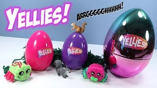 YELLIES! Toys Bunnies and Spiders Easter Egg Surprise Hasbro