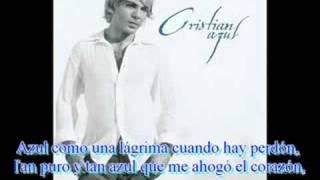 Azul - Christian Castro (Letra)