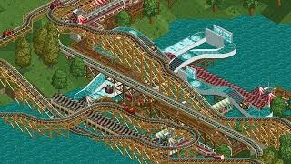 Rollercoaster Tycoon Loopy Landscapes #157 (Woodworm Park: Till death do us part)