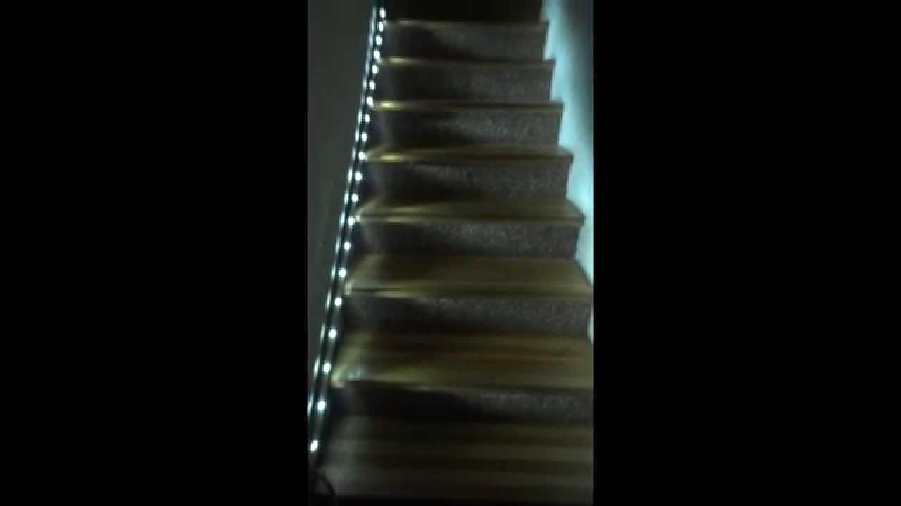 Inteligentne Oświetlenie Schodowe Led Sterownik Oświetlenia Schodów Ogrodu Drogi Wjazdowej