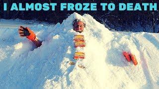 Deep Heat VS Snow Experiment *HYPOTHERMIA & FROSTBITE SYMPTOMS* | Insane Deep Heat Experiment Fail