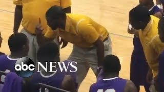We love this coach giving a pep talk to his team in sign language