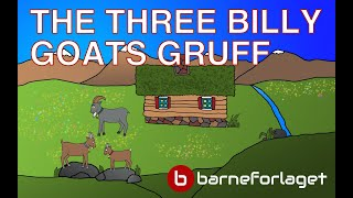 THE THREE BILLY GOATS GRUFF | Fairy Tale | Bedtime story with colorful pictures | famoustales.com