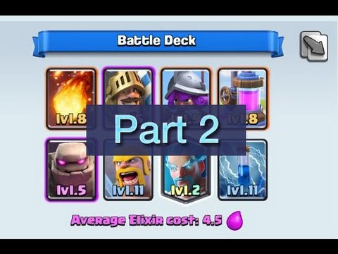 ▶ Clash Royale - FULL Playing 250 000 GEM Tournaments! Part 2