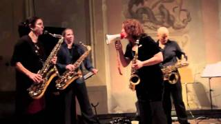 THE TIPTONS - Saxophone Quartet and Drums - Live in France - Chambéry