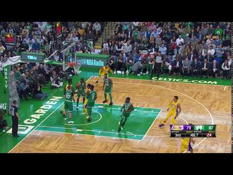 Marcus Smart leaves Lonzo Ball all alone