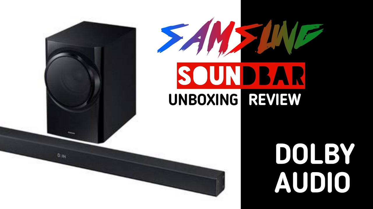 Samsung soundbar || Unboxing and review || Tech Notch