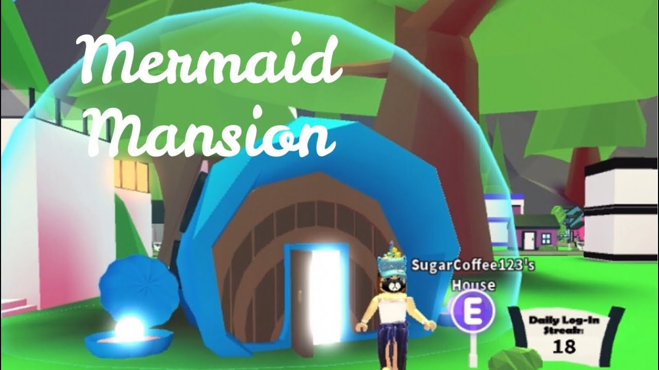 Roblox Adopt Me Mermaid Mansion | Free Robux Earn Points