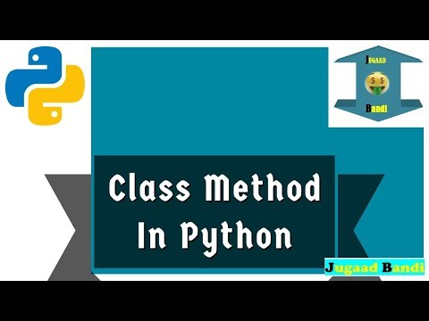 Class method    Python tutorial thumbnail