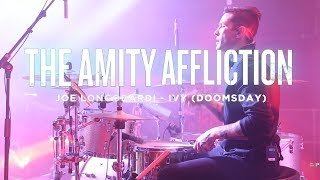 The Amity Affliction - Ivy (Doomsday) Joe Longobardi [Drum Cam] Atlanta - Misery Tour