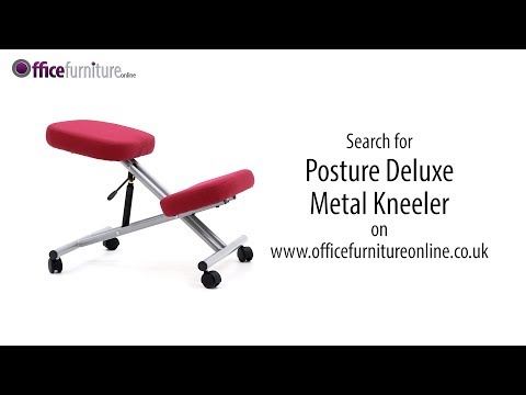 Posture Deluxe Metal Kneeler Chair Features And User Guide