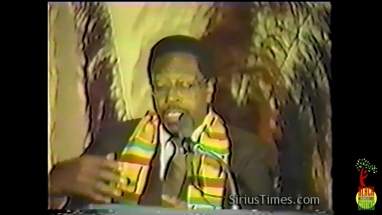 Dr. Amos Wilson Speaks on ADOS attempting to negotiate with White Supremacy as a Tribe