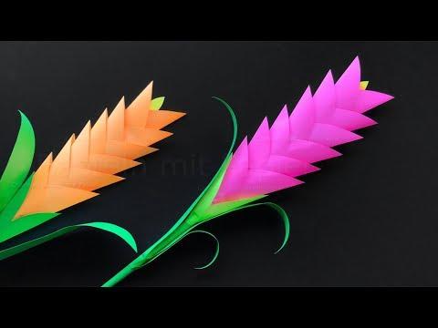 Blumen Basteln Mit Papier Diy Bastelideen Zum Geschenke Selber