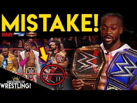 What's Wrong With WWE Universal Title Belt?! (WWE Made A Mistake?!)