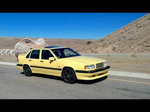 1995 volvo 850 t 5r yellow sedan queen bee votd youtube. Black Bedroom Furniture Sets. Home Design Ideas