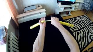 "Фристайл нунчаку- видео уроки ""Хэнд Ворк"" №2"