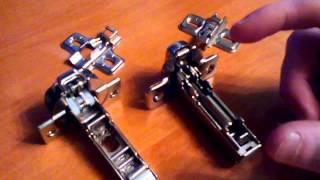 видео Петли для шкафов с доводчиком и накладные – фото петель