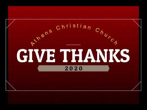 Thankful in 2020