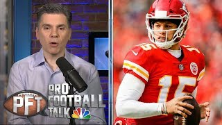 Patrick Mahomes, Tom Brady among best QBs in Divisional Round | Pro Football Talk | NBC Sports