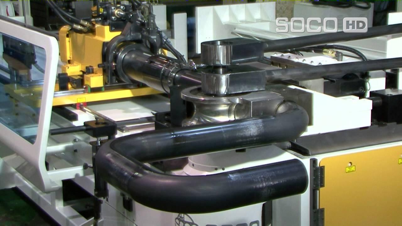 Дорновый трубогибочный станок с ЧПУ SB 127X6B 2S HSR, SOCO .