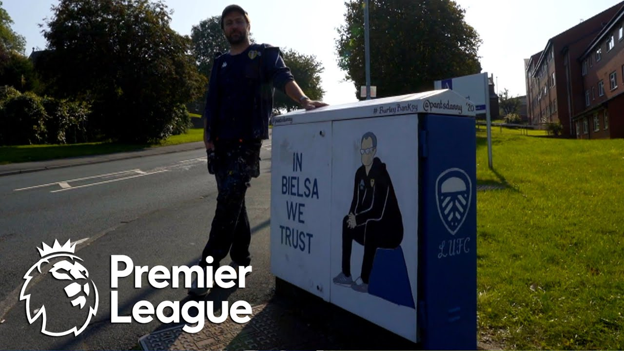 Leeds United street art? 'Burley Banksy' on his inspiration | Premier League | NBC Sports