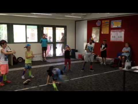 Pegs Creek PS Yr1 performing Party Rock Anthem