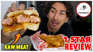 Eating At The WORST Reviewed Food Delivery Restaurant... (1 STAR) *DISGUSTING*