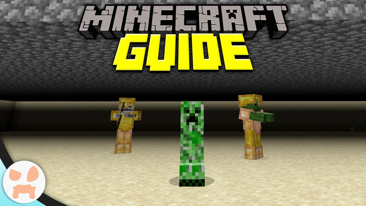 Simple Mob Farm! | Minecraft Guide Episode 11 (Minecraft 1 ...