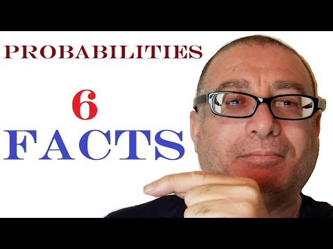 6 Facts of Trading Probabilities