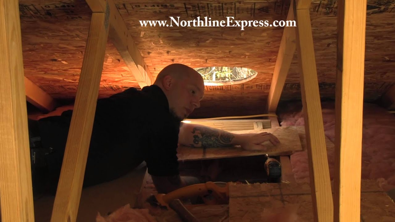 How To Build An Attic Insulation Shield Or Chase For Your