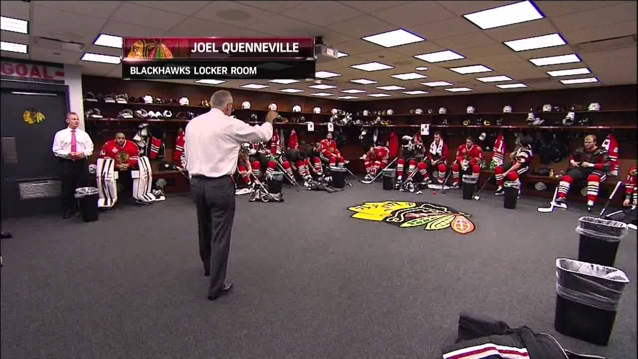 chicago blackhawks speech Prior to the hall of fame game between the ravens and bears, soon-to-be hall of famer brian urlacher surprised the team with a speech about what it me.