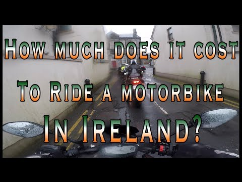 The Cost Of Riding A Motorbike In Ireland