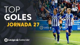 Todos los goles de la Jornada 27 de LaLiga Santander 2018/2019