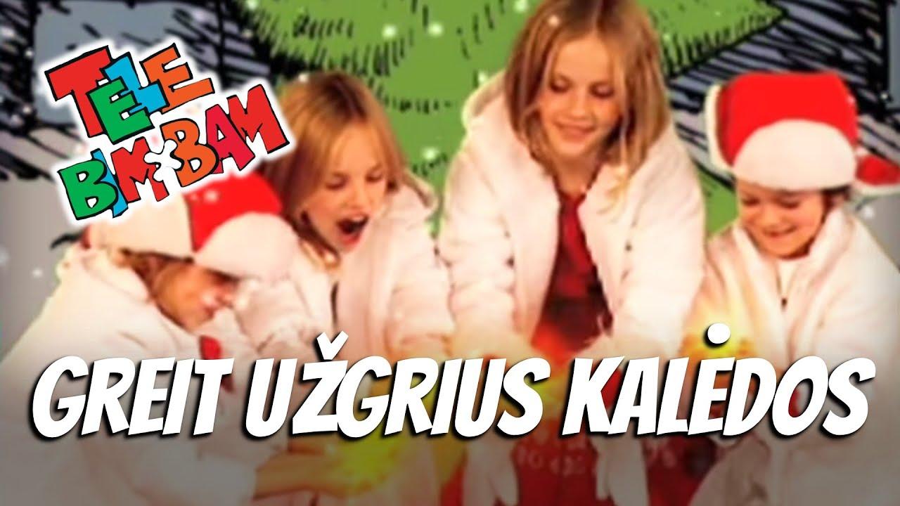 Tele Bim-Bam – GREIT UŽGRIUS KALĖDOS • Telebimbam Vaikiškos Dainelės • Vaikams
