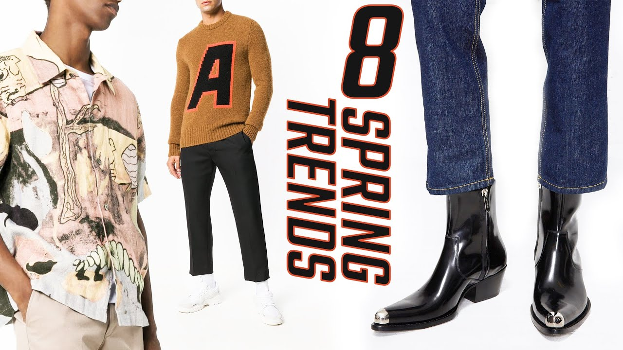 TOP 8 SPRING 2019 Fashion Trends Every Guy Needs // Mens Spring Summer Outfit Ideas 1