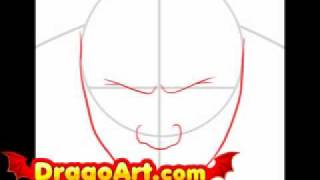 How to draw Batista, step by step