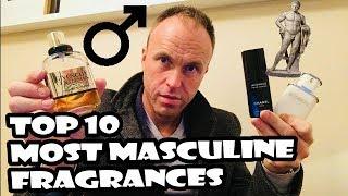 Top 10 Most Masculine Fragrances (Designer) Part One