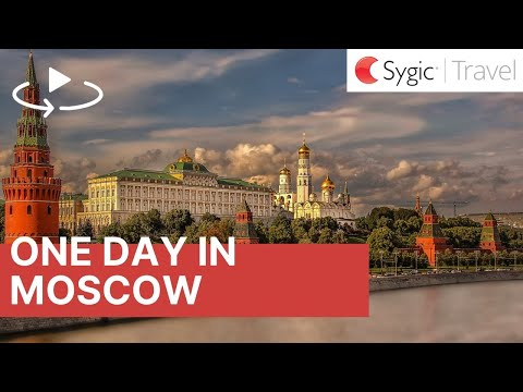 One day in Moscow: 360° Virtual Tour with Voice Over