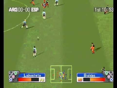 Gamepaly del Super Shot Soccer Loquendo