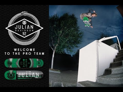 JULIAN DAVIDSON: WELCOME TO THE PRO TEAM